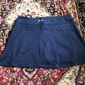 Dresses & Skirts - Fila Navy Tennis Skirt